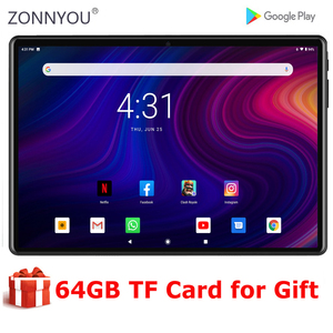 New 10 inch tablet PC MTK Fast CPU Android 9.0 OS Dual Camera 5.0MP 64GB ROM GPS WIFI Bluetooth tablet android 10 планшеты
