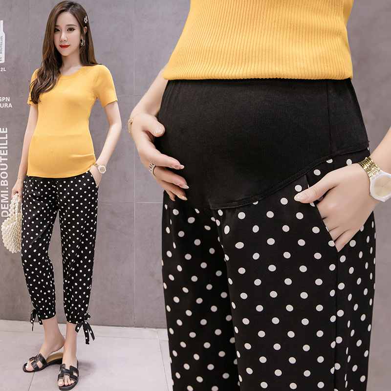 Summer New Style Maternity Trousers Knickerbockers Fashion Comfortable Korean Pregnant Women Capri-Pants