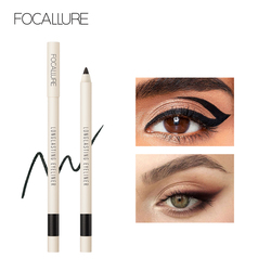 FOCALLURE Eyeliner Gel Pencil Waterproof Makeup Pencil 5 colors Easy to Wear Glitter Soft Eye Liner Stick