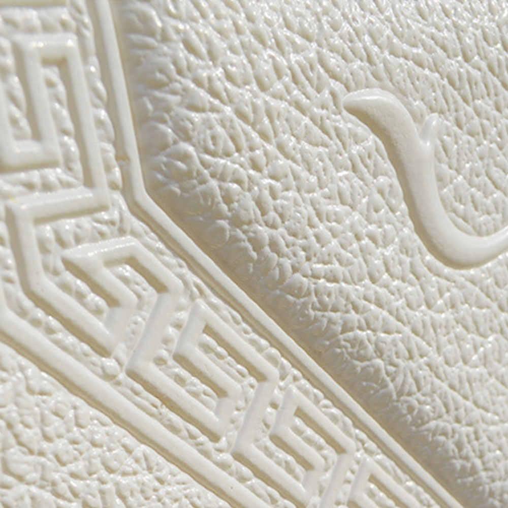 טלוויזיה רקע מסעדת טפט קיר קישוט קיר אמנות Creative עמיד למים שינה בסלון 3D PE קצף 30*30 בר דקור