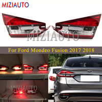 For Ford Mondeo Fusion 2017 2018 Inner side Rear Tail Light Stop headlights Brake Lamp Car Products Accessories Tail Lights