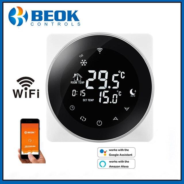 WiFi termostat akıllı sıcaklık kontrol elektrikli sıcak zemin termoregülatör Alexa ile çalışmak Google ev 200 240V