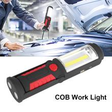 Rechargeable COB LED Work Light Torch Flashlight Camping Emergency Work Light Lamp lanterna High Quality Hot Sale panyue 2 packs xml t6 cob led mini pocket flashlight work light penlight torch lamp high 1000lumens 6 modes camping lanterna