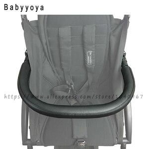 Image 2 - Arabası Bar kolu Bar Bugaboo arı Babyzen Yoyo Yoya arabası kol dayama Pu deri kılıf arabası tampon Bar arabası aksesuarları