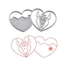 DiyArts Heart Dies Metal Cutting Scrapbooking Embossing Cut Stencils Cards Craft for New 2019