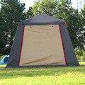 Hot Selling Ultra Grote Capaciteit Dubbele Laag Twee-deur Automatische Gemakkelijk te put-up Tent Familie stijl 4-5 Mensen Camping Tent Gehelen