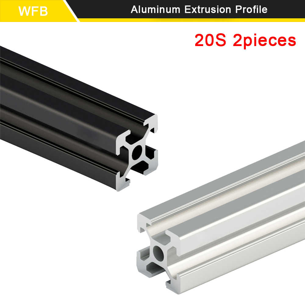 T-Slot Aluminum Profiles Extrusion Frame For 3D Printer 200mm-600mm New