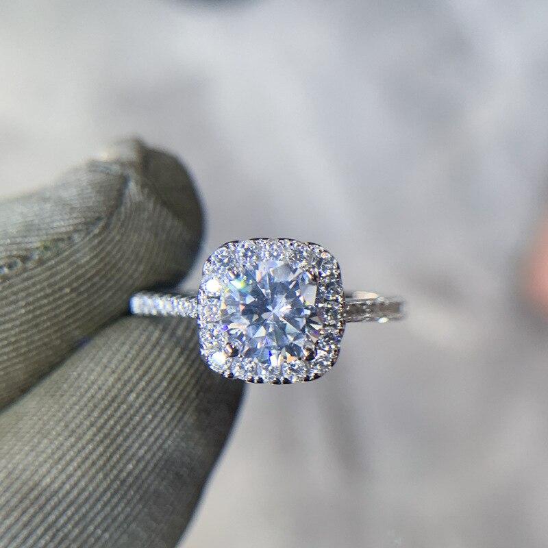 14 K Anillos De Bizuteria Gold Diamant Ring Schmuck für Frauen Feine Hochzeit Natürliche Edelstein 14 K Gold Ring Bijoux femme Schmuck