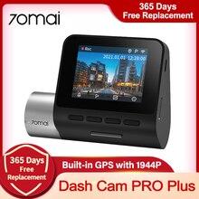 Глобальная версия 70mai Dash Cam Pro Plus A500S Wi-Fi Встроенный GPS 1944P Регистраторы Автомобильный видеорегистратор парковки автомобиля Камера 70mai Pro 70mai пл...