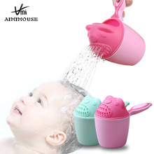 Детские шампуневые чашки для малышей, детские чашки для купания, мультяшный медведь, кувшины для душа для детей, для мытья волос, чашки для купания, инструменты для малышей, Tasse