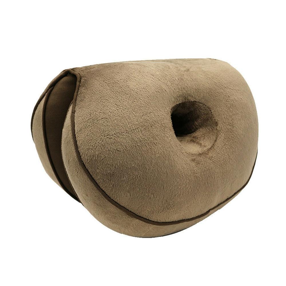 H0e9f601ff6594579bb75b2debe9e6e7df Multifunctional Dual Comfort Seat Cushion Memory Foam of Hip Lift Seat Cushion Beautiful Butt Latex Seat Cushion Comfy for Home
