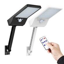new 48 LED 800 LM emote control rotate bracket solar street light Outdoor  Solar Power Street Wall Lamp rPIR Motion Sensor