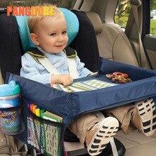 Поднос для детского автокресла, поднос для автомобильных сидений, игрушек, водонепроницаемый поднос для хранения еды, поднос для автомобил...