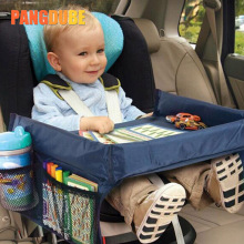 Kid Car Seat Tray Table for Car Seats Toys Waterproof Stroller Holder