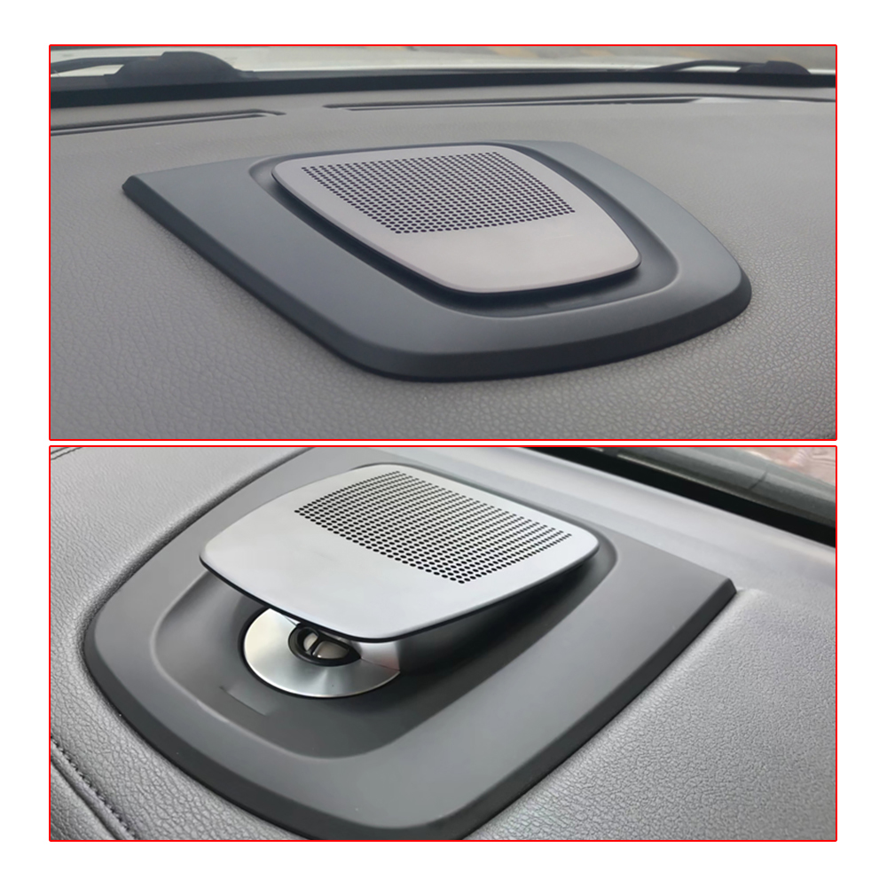 Image 4 - Car center speaker for BMW X5 X6 F15 F16 auto dashboard console audio lifting loudspeaker tweeter music player horn dash speakerMulti-tone & Claxon Horns   -