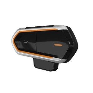 Image 4 - Fones de ouvido para motociclista qtbe6, headset sem fio para capacete de moto, à prova dágua, sem fio, para 2 pilotos