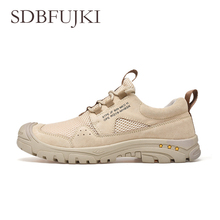 Hot Hiking Shoes Mens High Quality Mesh Trekking Summer New Outdoor Tactical Boots For Men Sneakers кроссовки мужские
