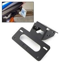 Apto para suzuki GSX-S750 2017-2020 GSX-S1000F gsxs1000 2015-2020 cauda traseira tidy fender eliminator kit suporte da placa de licença braket