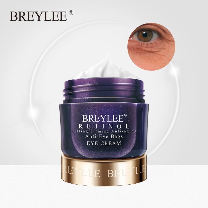BREYLEE – crème pour les yeux au rétinol, Lifting, raffermissant, Anti-âge, Anti-rides, soins pour les yeux, sérum blanchissant, nourrissant, sans agent