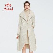 Astrid 2020 neue ankunft Frühling klassische stil länge frauen mantel Warme Baumwolle Jacke mode Parka hohe qualität Outwear ZM 7091