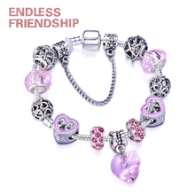 Fashion Plated Silver Charm Bracelet Fit Original Brand Bracelet for Women Authentic Jewelry Gift Bracelet Accessories цена