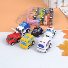 Pull Back Car Mini Fire Engineering Cars Model Funny Vehicle Car Toy Kids Toys Pull Back Cars For Children Boys Christmas Gifts 4 pcs alloy pull back car toys car children racing car baby mini cars cartoon pull back bus truck kids toys for children boy gif