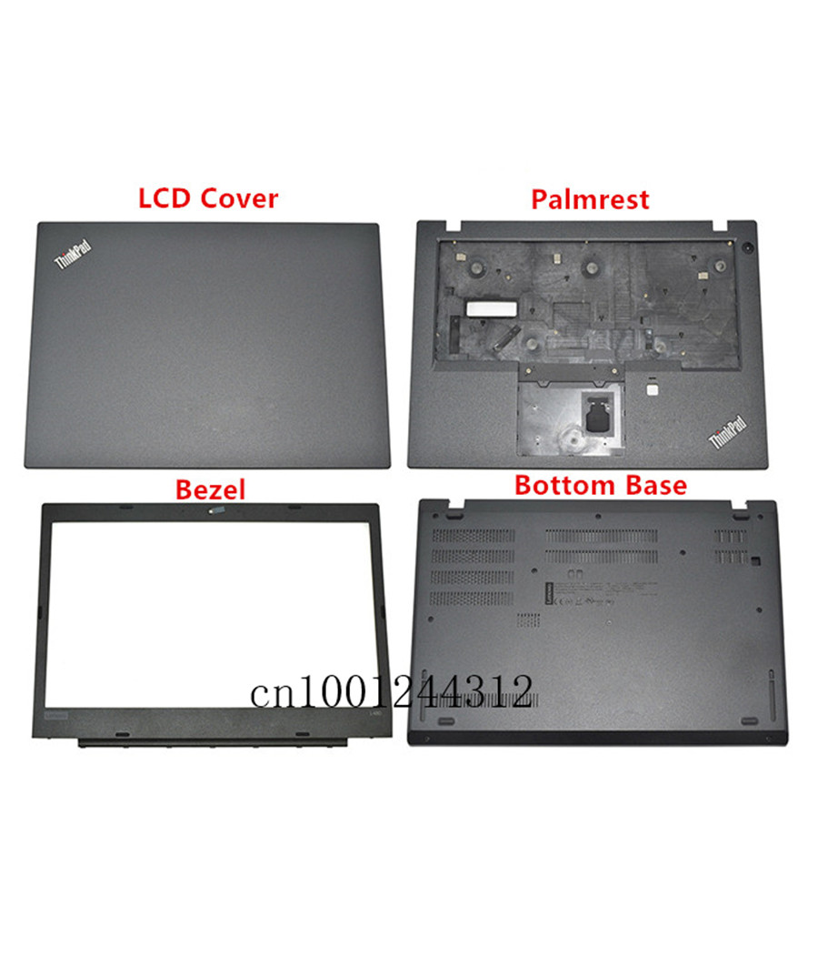 New FOR Lenovo ThinkPad X380 Yoga ThinkPad S1 4th Gen LCD Back Cover Rear Lid