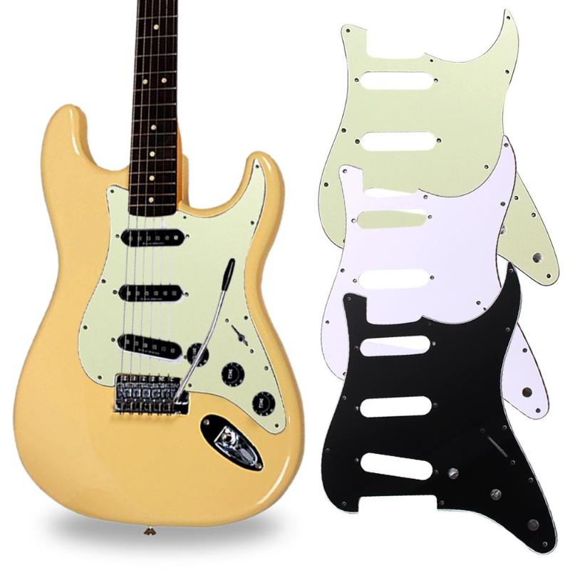 3Ply SSS PVC Electric Guitar Pickguard For FD All Guitar Protecting Accessories 11 Mounting Screw Holes Pickguard Dropshipping