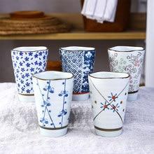 Tableware Coffee-Cup Ceramic Japanese-Style Underglaze Hand-Painted Korean Wave Yamada-Yaki