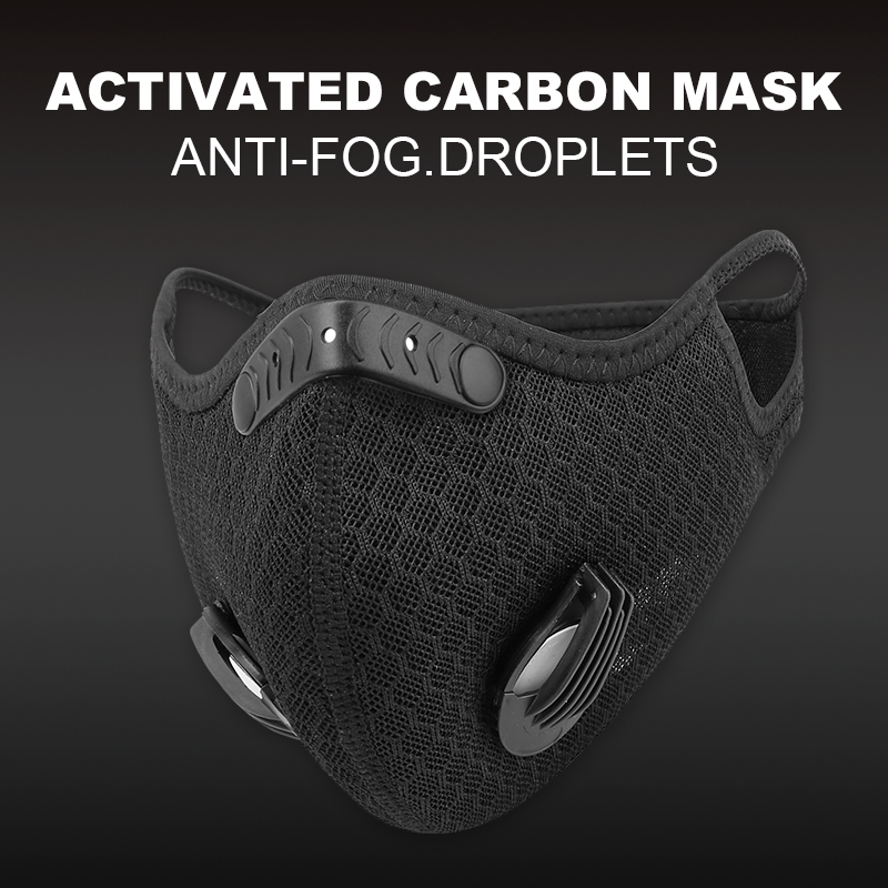 X Tiger Mesh Mask With Activated Carbon Filters Breathable MTB Bike Sport Training Face Mask Anti Pollution Cycling Mask|Cycling Face Mask| - AliExpress