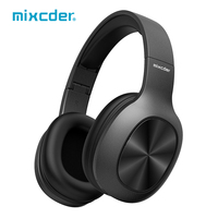 Mixcder HD901 Bluetooth Headphones Wireless Headset Earbuds with Microphone TF Card for Phone Music Foldable Adjustable Earphone