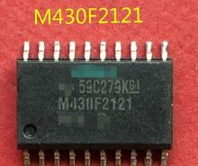 100% NEW    Free shipping M430F2121 MSP430F2121IDWR SOP20