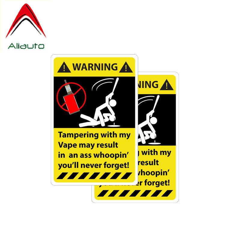 Aliauto 2 × おかしい車のステッカー改ざん私吸うが結果アクセサリー PVC ためジープ Renegade トルコ Vw t4 、 11 センチメートル * 7 センチメートル