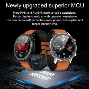 Image 3 - Cobrafly 2020 L11 ساعة ذكية الرجال 1.3 بوصة كامل شاشة تعمل باللمس IP68 مقاوم للماء مراقب معدل ضربات القلب اللياقة البدنية Smartwatch PK DT78 L9 L8