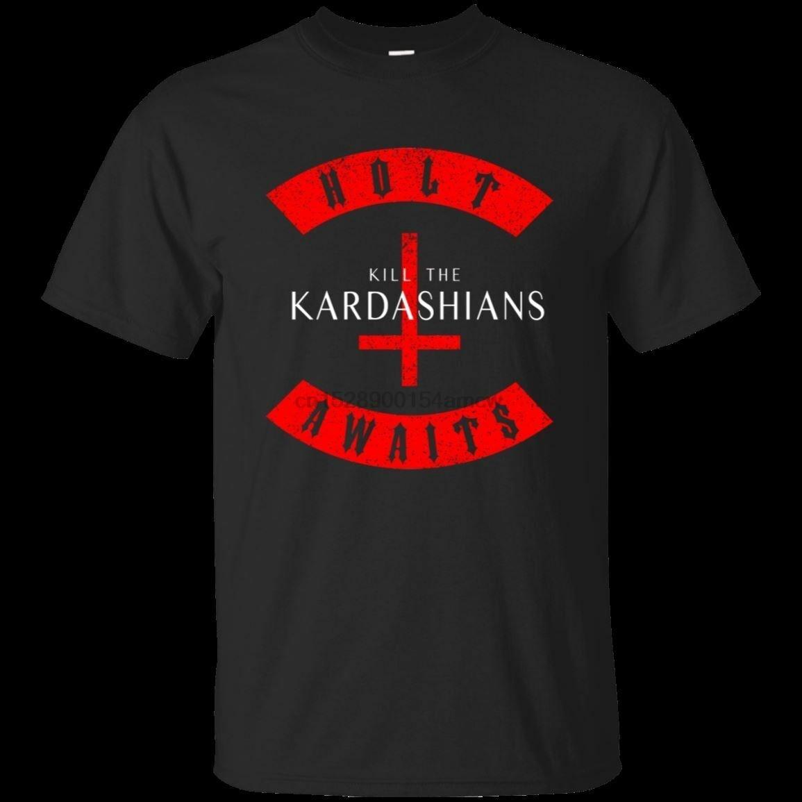 "Slayer Gary Holt /""Kill the Kardashians/"" t shirt Black 100/% cotton Men/'s tee"