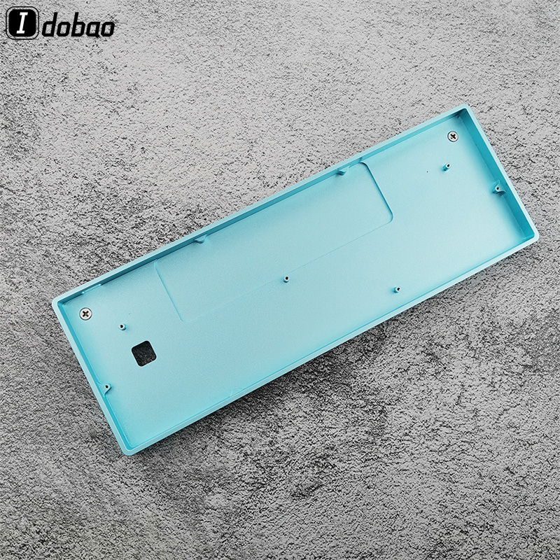 IDOBAO GH60 Anodizing Aluminum CNC Case For 60% Mechanical Gaming Keyboard Compatible Poker2 Pok3r Faceu 60 With ALU Feet