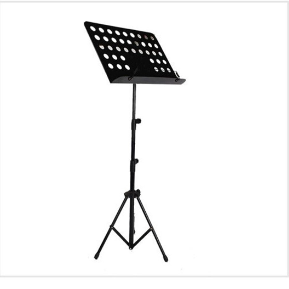 Musical Instrument Playing Thickened Large Music Stand Triangle Iron Frame Professional Folding Orchestra Sheet Stand