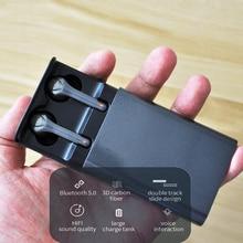 Stereo głęboki bas słuchawki douszne Bluetooth 5.0 TWS prawdziwe słuchawki bezprzewodowe bez opóźnienia zestaw słuchawkowy z mikrofonem z redukcją szumów