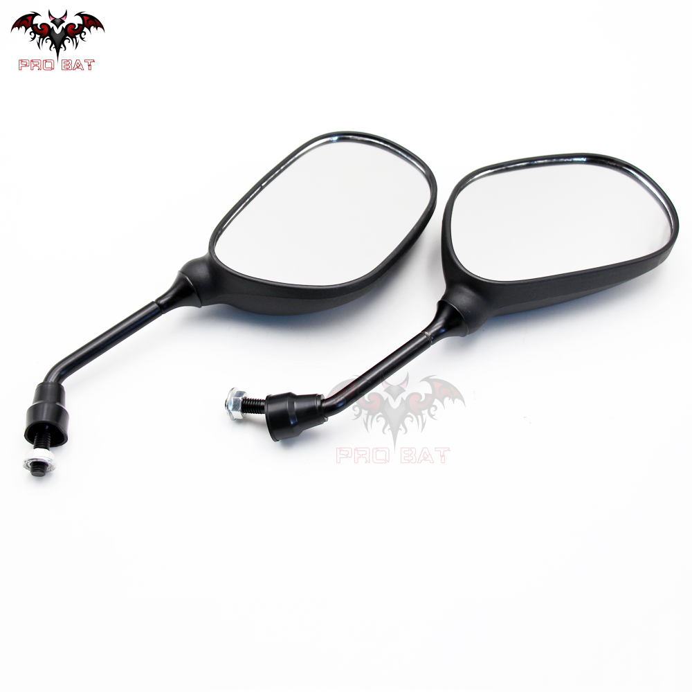 Left w// Right Side 8mm Mirror for GY6 Moped Scooter 50 110 125 150 ATV Quad