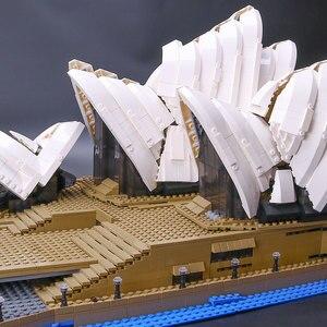 Image 4 - 88003 Expert Set Creator Sydney Opera House Compatible 10234 Building Blocks Bricks Birthday Birthday Christmas Gifts Toys