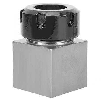 iso30 er32 70l balance collet chuck g2 5 30000rpm cnc tool holder stainless steel with pull stud woodworking machine ER32 Square Collet Chuck Holder Hard Steel Mayitr Block For CNC Lathe Engraving Machine Collet Block
