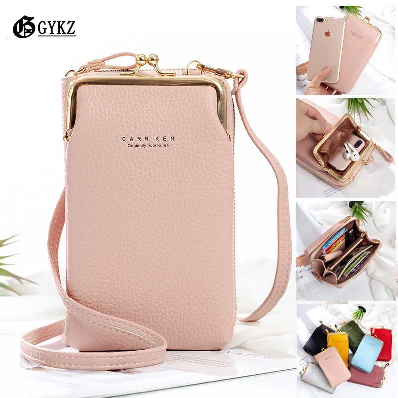 Small Womens Purses and Handbags Luxury Designer Korean Solid Shoulder Bags PU Flap Phone Bag New 2020 Cheap High Quality