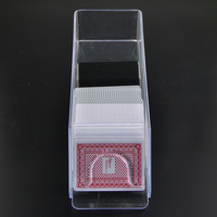 Texas Hold'em Professional Deluxe Poker Dealer Poker Card Shoe Club Poker Game Special Plastic Acrylic 6 Poker Machine Licensing
