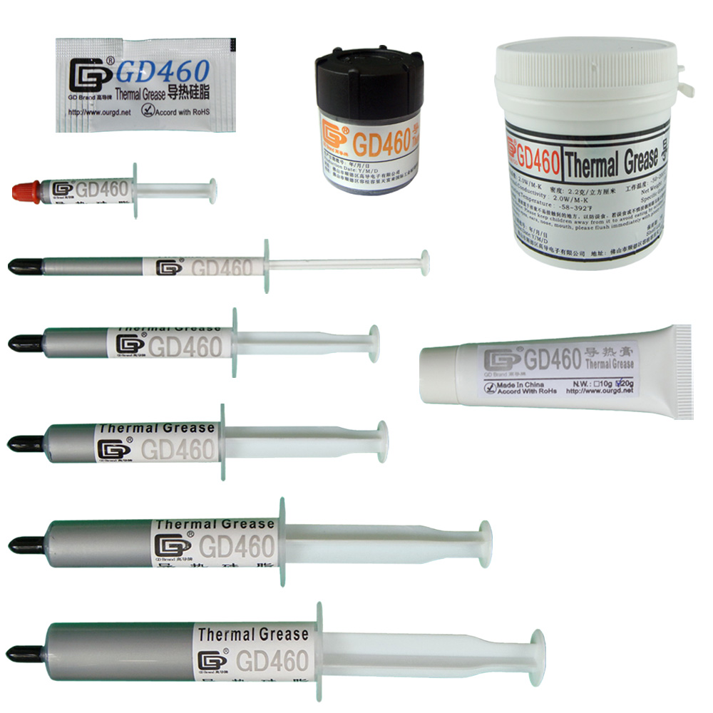 GD460 Termice Conductive Grease Paste Silicone Compus de radiator compus Argint ST20 MB05 SSY1 SY1 SY3 SY7 SY15 SY30 CN20 CN100