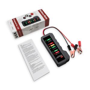 Image 3 - EDIAG Tester baterii BM310 12V miedziany kabel samochodowy cyfrowy 6 LED Light Alternator Auto analizator mocy