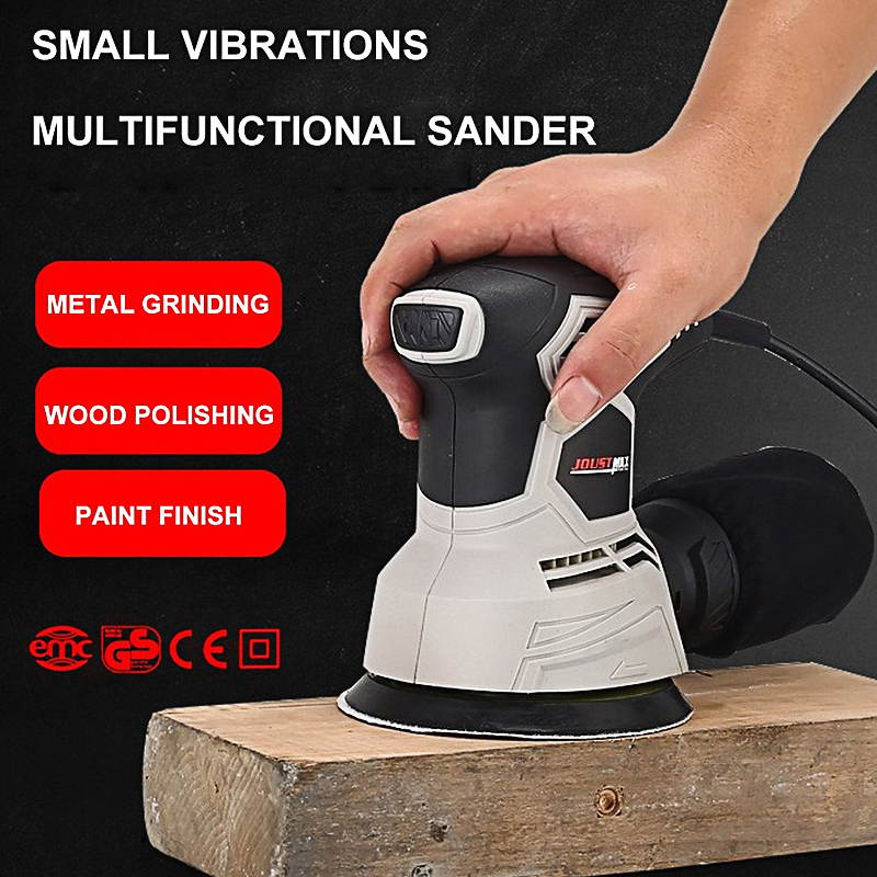 Woodworking Tool 220V Electric Wood Sander Machine Orbital Metal Polisher Sander Paint Grinder DIY Power Tools Grinding Machine in Oscillating Multi Tools from Tools