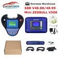 Программатор для автомобильных ключей  SBB Pro2 V48.88 V48.99 версия  Смарт Zed-Bull Mini V508 Smart zedbull без маркеров  лимит Zed-Bull  2019
