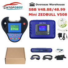2019 SBB Pro2 V48.88 V48.99 versión programador clave Auto Mini Zed Bull inteligente V508 zedbull inteligente No fichas límite Zed-Bull
