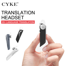 T1 Wireless Translator Headset Instant In-Ear Smart Headset Bluetooth 5.0 28 Language Instant Translation Voice For IOS/Android multifunction wireless instant translation business bluetooth in ear earphone 16 languages any conversion for ios android