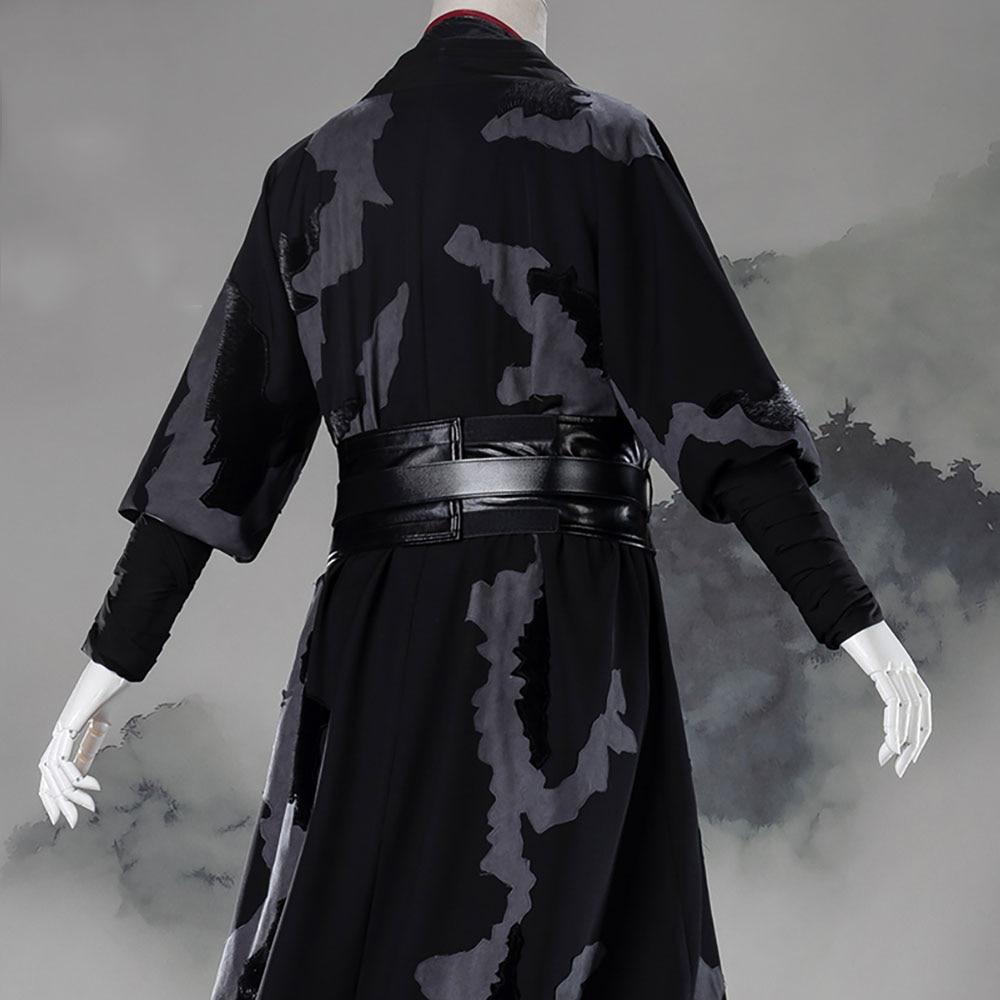 Mo Dao Zu Shi Wei Wuxian exquis grand maître de Costume de Cosplay démoniaque adulte Style chinois Wei Ying Hanfu vêtements de Cosplay - 4